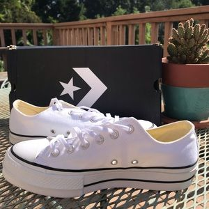 Converse  shoes low sneaker with platform lift ox